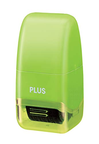Plus Guard Your ID Mini Roller Stamp, Green