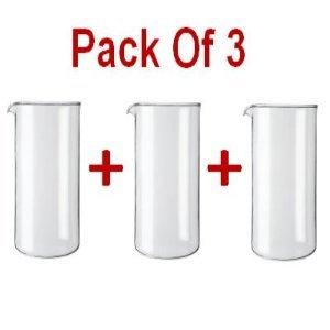 Bodum 1508-10 Pack of 3 Glas, 1 litre Kapazität - UK IMPORT