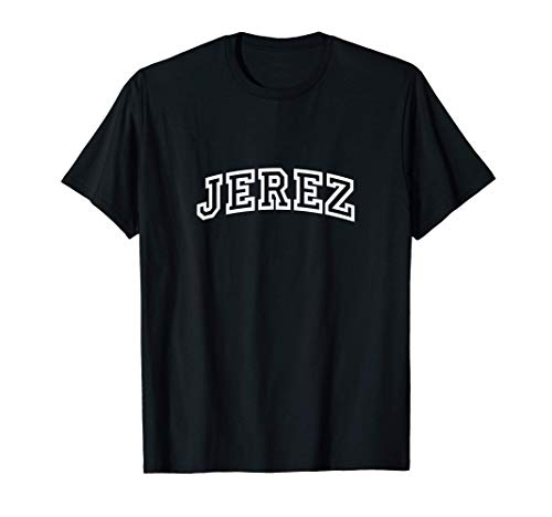 Jerez Vintage Retro Sports Arch Camiseta