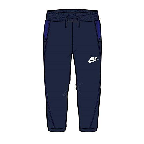 Nike NSW Mixed Material Pant azul 3 años