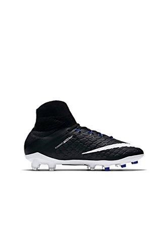 Nike Unisex Kinder Hypervenom Phantom III DF FG Fußballschuh, schwarz/weiß, 36 EU