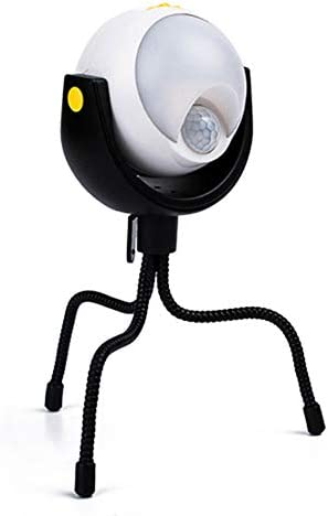 LED Night Light Portable Battery Powered Night Light Tripod Outdoor Lights Motion Sensor Night product image