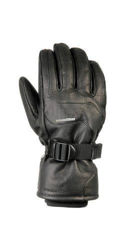 Snowlife ® Damen Lederhandschuhe Winterhandschuh Handschuh Rodeo Glove black Gr. L/S