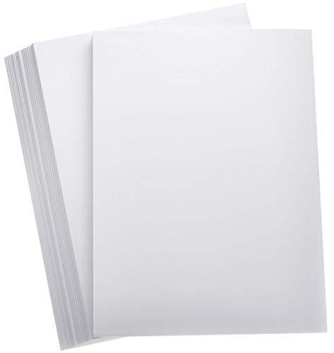 Premium Papier, DIN A4, superdick, 400 g/m2, Druckerpapier, Weiß, 100 Blatt