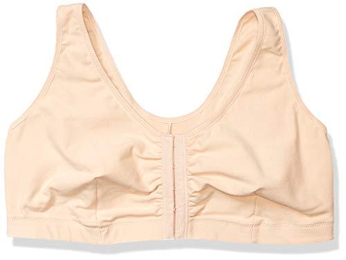Amoena Women's Frances Front-Closure Leisure Bra,Nude,Medium A/B (36/38)