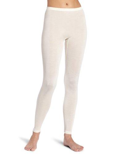 Hanro Damen Longleg Pure Silk Unterhose, Elfenbein (pale cream ), 40 (Herstellergröße: S)