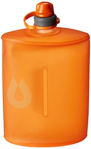 Hydrapak Stow–faltbar BPA & PVC-frei Wasser Flasche M 1-Liter