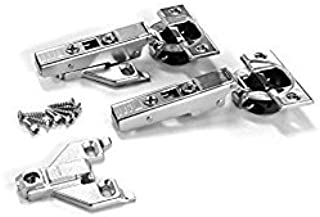 Blum CLIP top BLUMOTION Soft-Close Hinges, 110 degree, Self closing, Face Frame, with Mounting Plates (Full - Overlay - 8 pack)