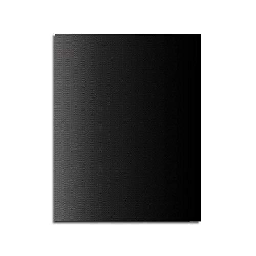 Grillmatten-Set, Antihaft-Grillmatten Hochleistungs-wiederverwendbare Ungiftige Ungiftige Geruchlose Backmatten Leicht Zu Reinigende Grillmatte Geeignet Für Gas,Holzkohle,Elektrogrill, Schwarz 40x33cm