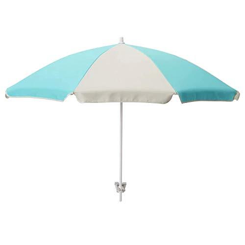 RAMSÖ Sonnenschirm, türkis, Hellbeige, 125 cm