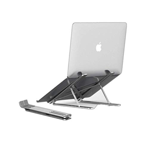 MiaoMiao Laptop stand Ventilated portable folding desktop stand Tablet stand Aluminum alloy Lightweight laptop tray