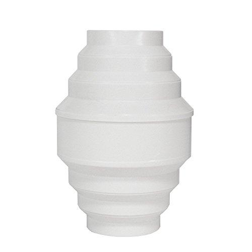 EASYTEC® Kondenswassersammler 150 mm / 125 mm / 100 mm Universalgröße zum Auffangen von Kondensat im Abluftrohr