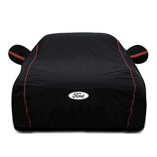 DSISI Kompatibel mit Ford Ecosport-Wagenabdeckung, sonnensicherer Wärmeisolierende Autoracke mit Vier Saison...