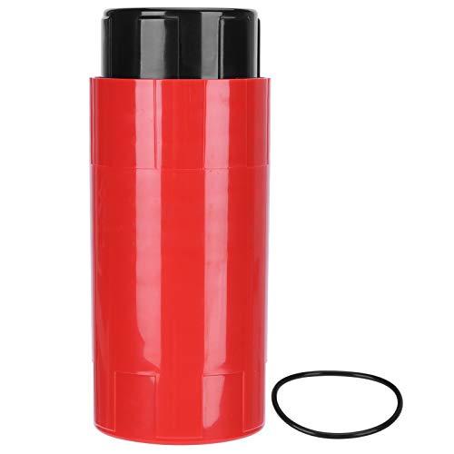 Duokon Caja de Almacenamiento de Ahorro de Pelotas de Tenis Mantenimiento de presión Recipiente de reparación Accesorios Deportivos(Rojo)