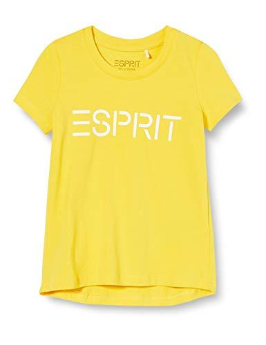 ESPRIT Baby-Mädchen T-Shirt, Yellow|Yellow, 98