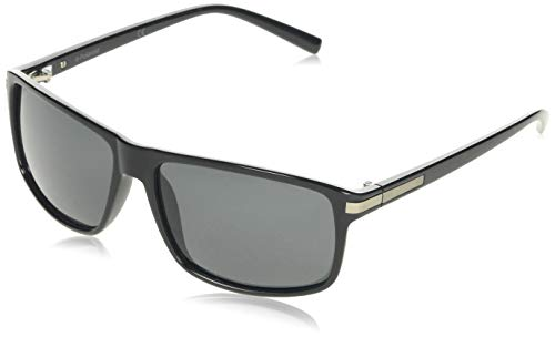 Polaroid PLD 2019/S Y2 D28 59 Gafas de sol, Negro (Shiny Black/Grey Pz), Hombre