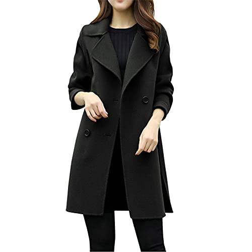 Women Open Front Pockets Blazer Long Sleeve Work Office Cardigans Suits Casual Lapel Button Slim Blazer Jacket Shirts