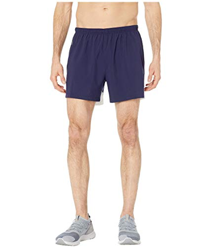 Brooks Go-to 5' Shorts Navy/White/Navy MD 5