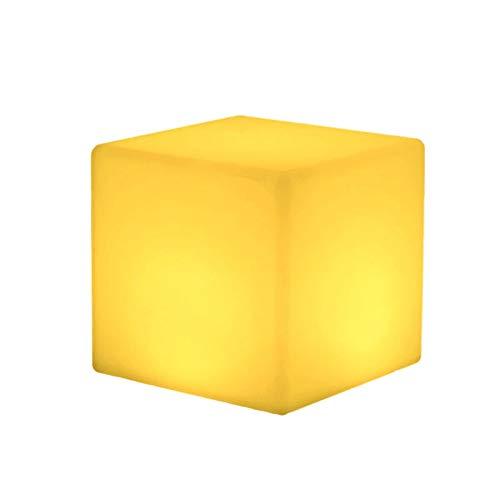 LED tafellamp Cube Light bar tafellamp tafellamp afstandsbediening creatieve lamp oplaadstandaard licht bont 20cm Charging