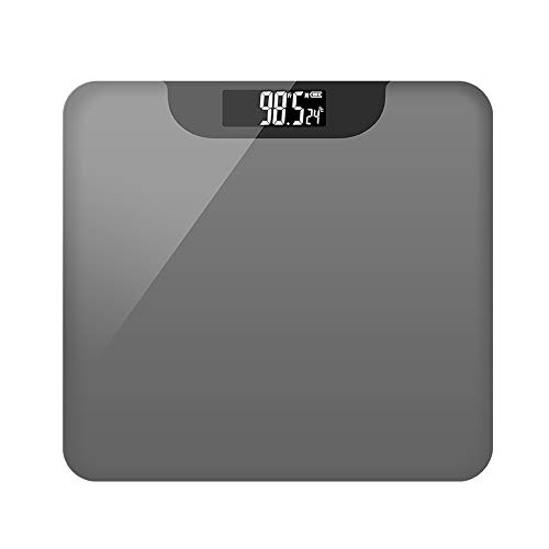 Digital Scale, High Precision Ultra Thin Electronic Scale, With USB Charging, Tempered Glass ABS Plastic, Weight 180 kg, for Weight Watchers,Gray