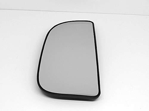 Mopar Left Driver Convex Lower Flip Up Tow Mirror Glass w/ Rear Mounting Bracket OE, 68067731AA