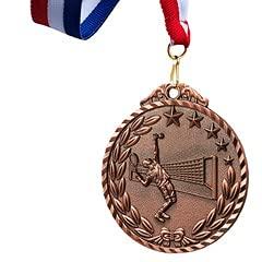 Watermzk Medallas de bronce profesionales personalizadas, para ganador de tenis, grabado logotipo personalizado, 3er premios, 2.75 pulgadas de ancho medallones, con cinta de cuello, (Tenis)..