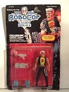 Kenner Toys Chainsaw Vandals Member Action Figure - 1988 Robocop and The Ultra Force Vandals Series