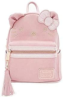 hello kitty backpack leather