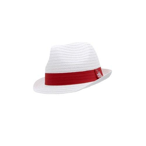 Jim Beam Red Stag Sombrero de Paja Color Blanco
