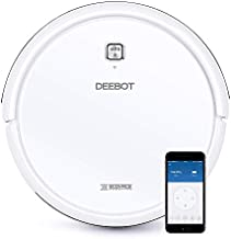 ECOVACS DEEBOT N79W Robot Vacuum Cleaner (White) with Max Power Suction, Alexa Connectivity, App Controls, Self-Charging, for Hard Surface Floors & Thin Carpets (Renewed)