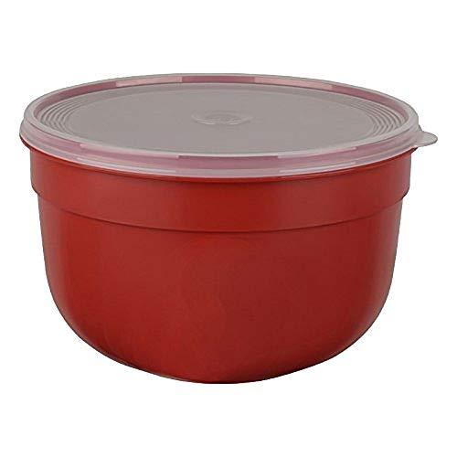 Emsa Frischhalteschale mit extra softem Deckel, Rund/hoch, 2,25 L, Rot, Superline Colour, 517154