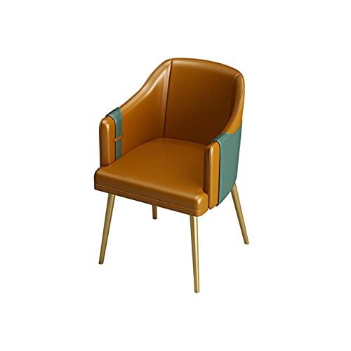 BUYYUB Silla De Sofá Individual, Cuero PP Simple Y Casual, Adecuado para Sala De Estar, Muebles Modernos De Oficina
