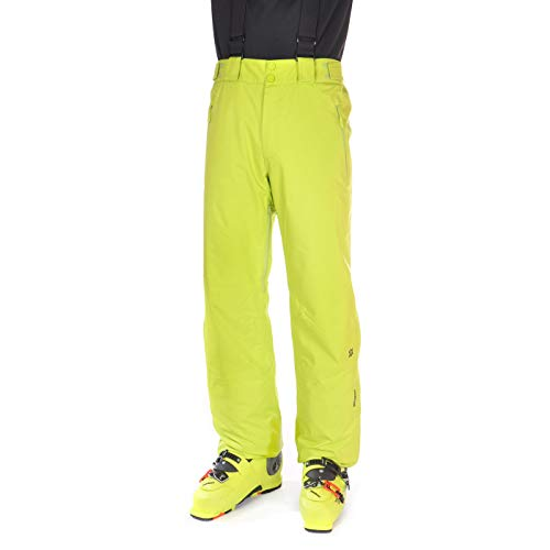 Völkl Herren Funktions Ski Hose Team Pants Short Lime 70012111S (XL)