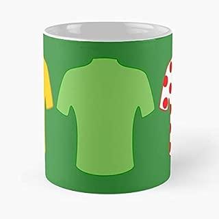 Tour De France Jerseys Classic Mug Coffee Tea - And Cup Gift 11 Oz Best Mugs For Choose