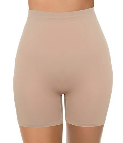 COMFREE Miederpants Miederhose Bauch Weg Stark Formend Figurenformend Shapewear Unterwäsche Damen Body Stark Formend Nahtlos Hautfarbe M