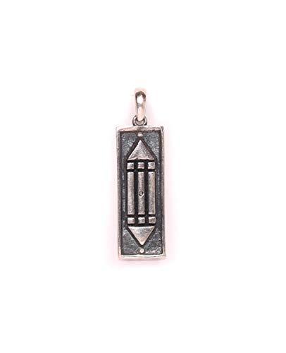 El COLGANTE ATLANTE posee el secreto de los atlante, El más poderoso amuleto,El autentico Dije ATLANTE Patentado.Plata ley 925. (Colgante Atlante pequeño)