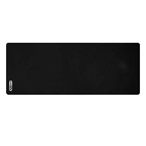 SADES Gaming & Office Desk Pad, 30.71 x 11.81 inches SKADI Large Size Cloth Well-in-Control Gaming Mouse Pad with Anti-Fraying Stitched Frame & Rubber Base, Dual Use Desk Writing Mat at Home