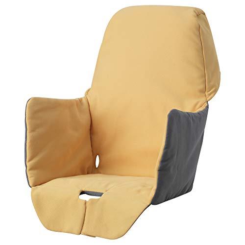 LANGUR Sitzauflage für Hochstuhl 22x21x40 cm gelb
