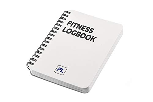 Fitness Logbook Pocket-Size A6: Undated Workout Journal - 4 x 6 inches - Thick Paper, Durable Laminated Cover, Round Corners, Sturdy Binding - Stylish, Minimalistic and Easy-to-Use Gym Log Book