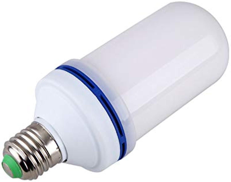 Gaowi LED-Flammen-Licht-Weihnachtsatmosphre-Flammen-Birnen-Stab KTV, Der Flammen-Lampe, E26   E27, AC85-265V Beleuchtet, Mit Den Abkühlenden Lchern Enthlt 2 Birnen,E27