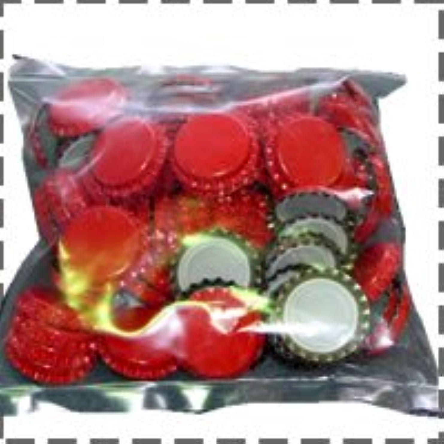質素な味わうドーム王冠 赤 100個入り (ベルギー製)