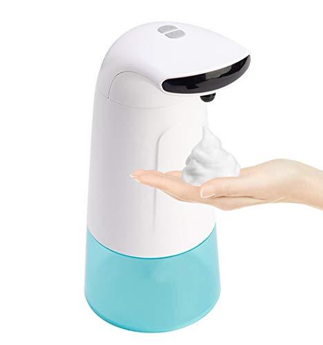 YTRD 280ml Dispensador Automático de Jabon con Sensor Encimera,Sin Contacto Dosificador Jabon Liquido Cocina Encimera para Baño o Cocina Blanco
