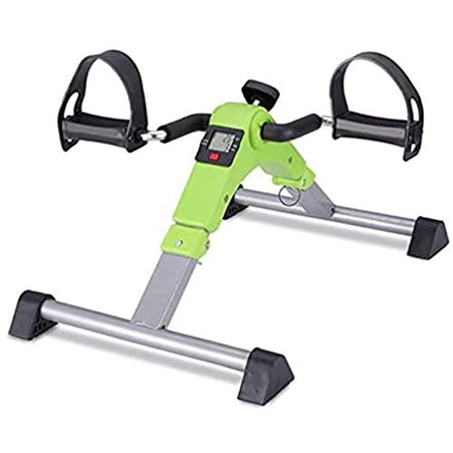 Pedal Ejercitador, Mini Pedal Plegable Para Bicicleta Estacionaria, Máquina De Pedaleo Para Ejercicios De Pie, Mano, Brazo Y Pierna, Para Ejercicios De Recuperación Para Discapacitados Y Ancianos
