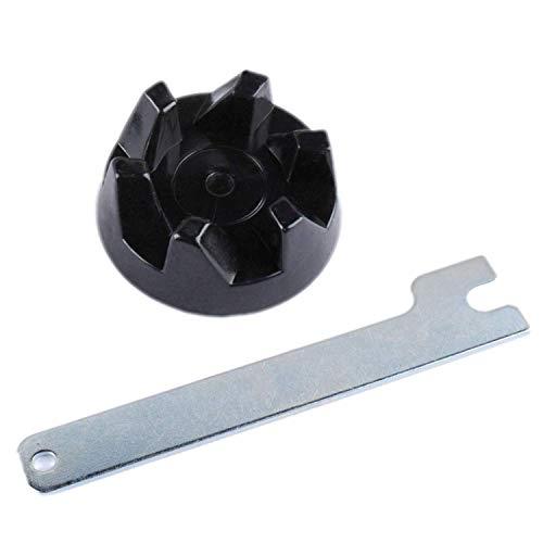 Poweka 9704230 Ersatzteil Schwarzem Gummi Kupplung Getriebe und Spindel Werkzeug für KitchenAid KSB5WH KSB5 KSB3 Blender Mixer