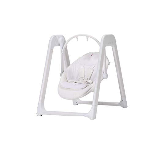 YX Berceau automatique pour bébé, chaise longue pour fauteuil à bascule pour lit d'enfant, chaise confortable pour enfant, balançoire, réglage automatique de la balançoire à 5 vitesses, facile à dor