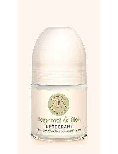 Bergamote & Aloé Rouleau naturel déodorant - Sans aluminium, sans alcool, sans parfum de synthèse - Huiles essentielles pures