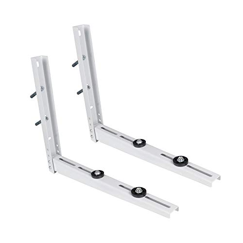 LBG Products Outdoor Universal Wall Mounting Bracket for Ductless Mini Split Air Conditioner Units,Heat Pump Systems, Support up to 265lbs 7000-15000BTU Condenser
