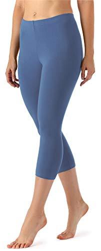 Merry Style Leggins 3/4 Mallas Deportivas Mujer MS10-144 (Jeans, XS)