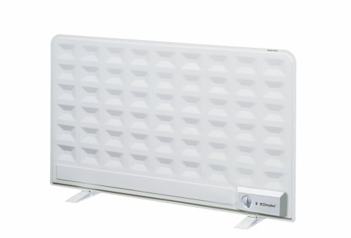 DIMPLEX OFX750TI Oil Filled Panel Radiator Thermostat and Timer, 750 W, Plastic, White