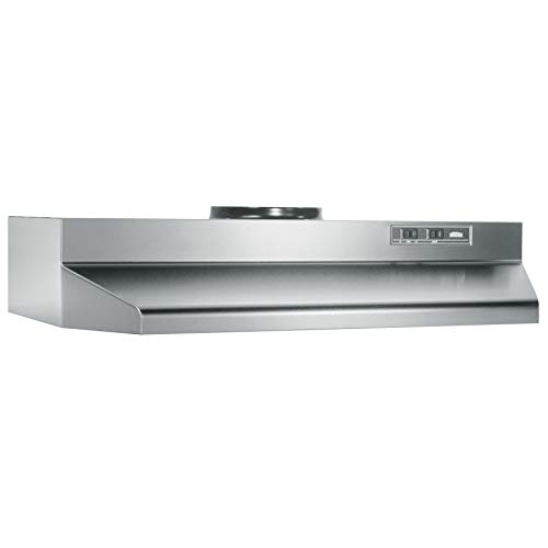 Broan-NuTone 423004 Under Cabinet Range Hood, 30-Inch, Stainless